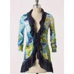 Anthropologie Guinevere Amphitrite Cardigan Size S